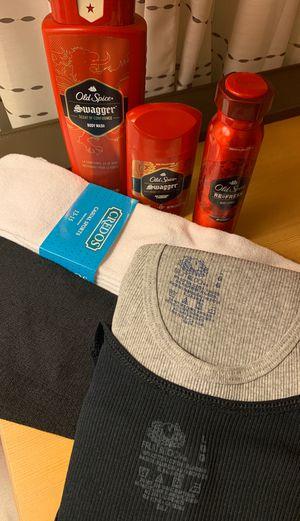 Men's hygiene, tube socks, & undershirt for Sale in Buena Park, CA