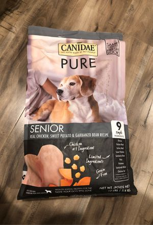 CANIDAE DOG SENIOR FOOD for Sale in San Jose, CA