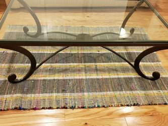 Metal Glass Coffee Table for Sale in McLean,  VA