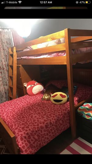 Bunk bed with matching dresser for Sale in North Royalton, OH