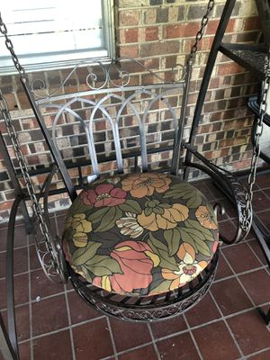 Iron Porch Swing for Sale in North Richland Hills, TX