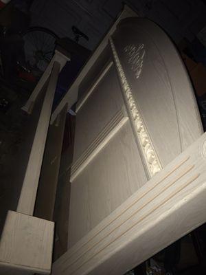 Cali king bed frame for Sale in Sacramento, CA