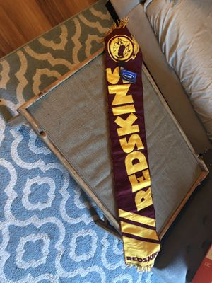 """Redskins scarf 41"""" inches long brand new for Sale in Ashburn, VA"""