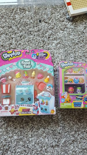 SHOPKINS New Never Opened! Vending machine and Food Fair for Sale in Tampa, FL