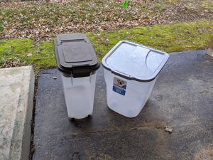 2 dog food bins for Sale in Lexington, KY