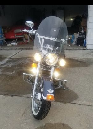 03 Harley Davidson 100 yr anniversary edition softtail for Sale in CANAL WNCHSTR, OH
