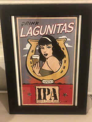 Framed Lagunitas Art for Sale in Phoenix, AZ