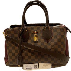 Louis Vuitton Normandy Damier Ebene Bordeaux Tote Handbag N41654 AUTHENTIC for Sale in La Jolla, CA
