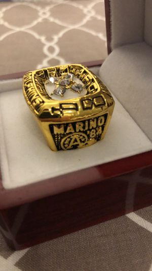 Dan Marino 1984 AFC champ ring for Sale in West Palm Beach, FL