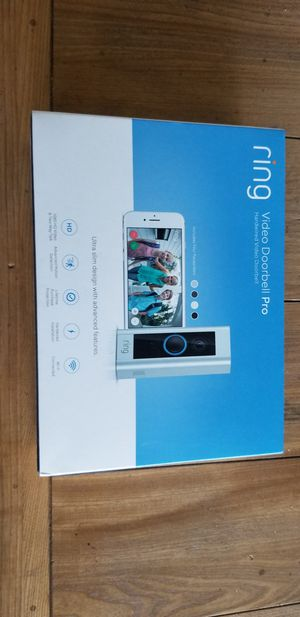 Ring video door bell PRO, new in box. for Sale in Prosser, WA