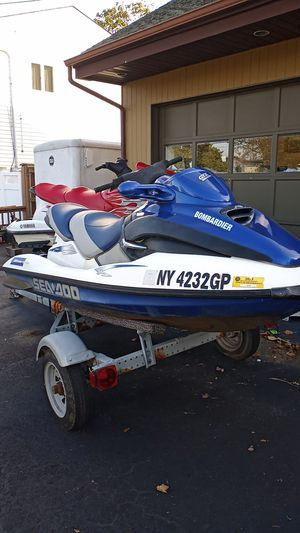 2000 Seadoo GTX Bombardier Millenium Edition NOT RUNNING for Sale in West Islip, NY
