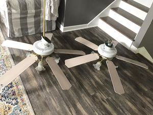 Two Hampton Bay Five-Blade Ceiling Fans for Sale in GOODLETTSVLLE, TN