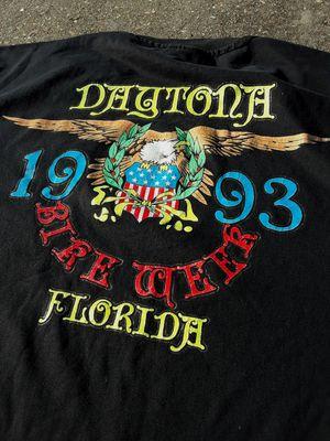 Vintage 1993 Daytona Bike Week T-Shirt for Sale in Lafayette, LA