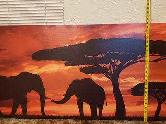 Safari Theme Canvas for Sale in Fresno,  CA