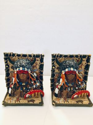 Native American Indians Book Ends for Sale in Leesburg, FL