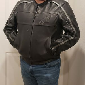 Alpinstar Leather Motorcycle Jacket for Sale in Oakland, CA