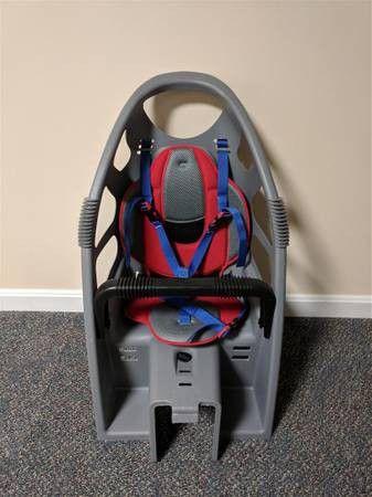 Child bike seat carrier