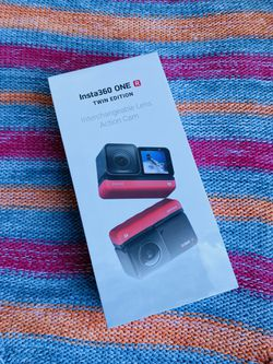 Insta360 ONE R Twin Edition 2 x 12.0 MP Ultra HD Action Camera - 4K for Sale in Anaheim,  CA