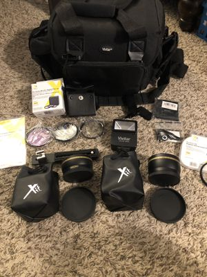 Camera Accessories Lot for Sale in Friendswood, TX