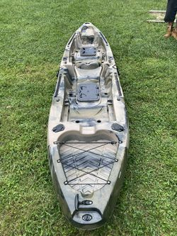 """12 1/2ft 8"""" tandem stand on hunting fishing Brooklyn kayak for Sale in Monroe Township,  NJ"""