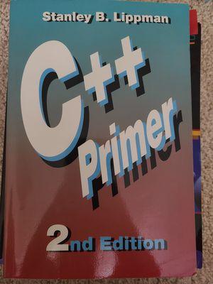 C++ Primer 2nd edition & Turbo C++ for Sale in Lawrenceville, GA