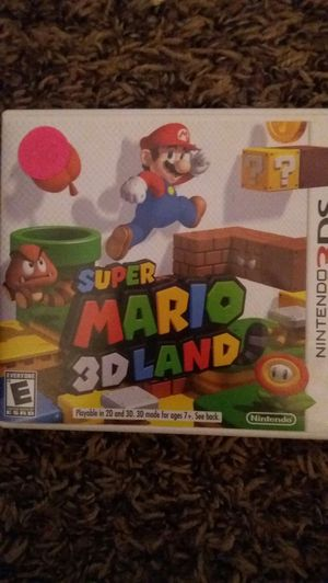SUPER MARIO 3D LAND (Nintendo 3DS) for Sale in Lewisville, TX