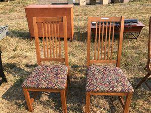 Oak chairs for Sale in Leavenworth, WA
