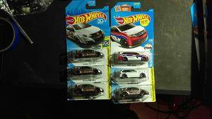 Hot wheels honda jdm lot of 6 zamac for Sale in Chandler, AZ