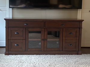 Solid wood media console! for Sale in Issaquah, WA
