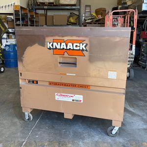 Knaack Job Storage Box Model #89 Storage master Chest Knack for Sale in Henderson, NV