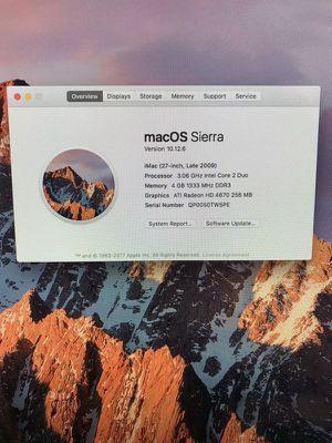 """27"""" iMac 2009 for Sale in Santa Monica, CA"""