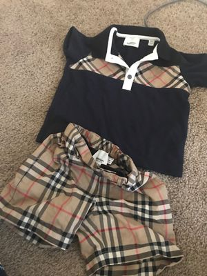 Burberry baby outfit for Sale in Houston, TX