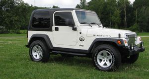 Works Great 2003 Jeep Wrangler Rubicon 4WDWheels4 for Sale in Columbus, GA