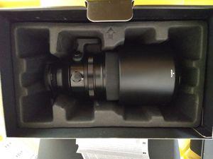 Fujifilm xf 100-400 telephoto lens pristine condition for Sale in Sacramento, CA