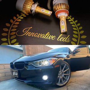 Car led headlights kit leds kits are super bright lights H1 H7 H8 H9 H10 H11 9003 9005 9006 9007 H13 880 9145 9140 5202 for Sale in Bloomington, CA