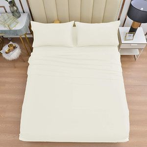 Lux Bamboo Bed Sheet Set | QUEEN | IVORY for Sale in Fairfax, VA
