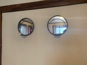 Mirror candle holders for Sale in Euclid, OH