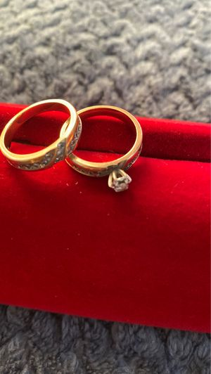 Engagement ring and wedding ring for Sale in Vallejo, CA