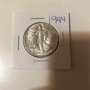 1944 Walking Liberty Half Silver Rare Coins Precious for Sale in Dallas, TX