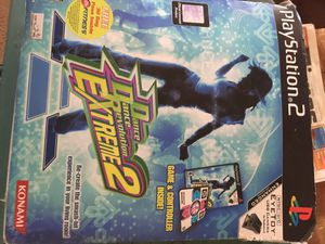 Dance dance game with ps2 get your fat kids in shape for Sale in Murrieta, CA