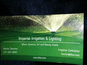 Irrigation /Sprinkler systems for Sale in Chantilly, VA