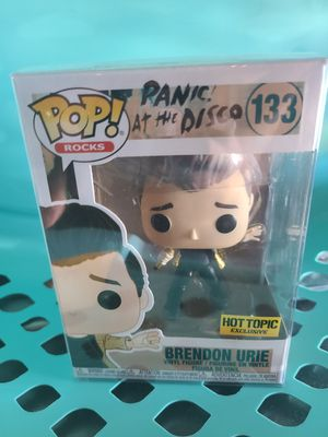 Brendon Urie Panic at the Disco Funko Pop for Sale in Simi Valley, CA