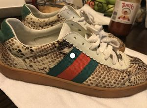 RARE Gucci Python Sneakers for Sale in Haines City, FL
