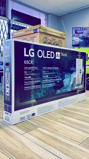 LG 65 inches - OLED - CX Series - 2160p - Smart - 4K UHD TV with HDR - Brand New in Box - Retails for $2499+ Tax !! $50 DOWN / $50 WEEKLY !! for Sale in Arlington, TX