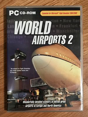 World Airports 2 from JustFlight - FS2004/2002 for Sale in Bristol, CT