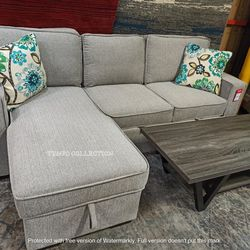 HIGH QUALITY, GRAY PULL OUT BED SECTIONAL, SKU#TC6964 for Sale in Santa Ana,  CA