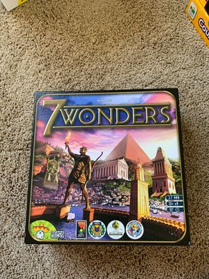 7 wonders Board game for Sale in OR, US
