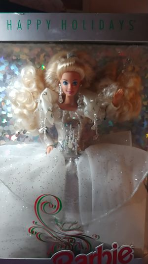 Vintage Happy Holidays Barbie from 1992 for Sale in Lakeland, FL