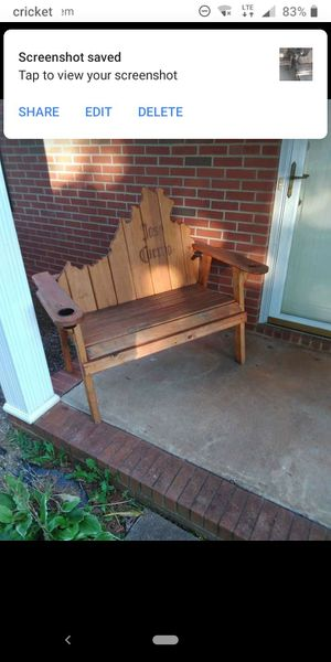 Jose Cuervo Virginia Adirondack bench for Sale in Madison Heights, VA