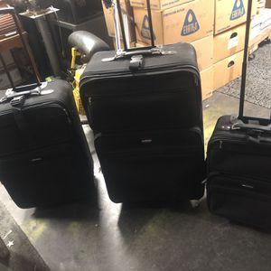 Three piece luggage for Sale in Gresham, OR